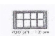 Set No: 700.B.1  Name: Individual 1 x 4 x 2 Window (without glass)