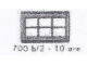 Set No: 700.B.2  Name: Individual 1 x 2 x 3 Window (without glass)