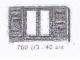 Set No: 700.C.3  Name: Individual 1 x 6 x 3 Shutter Window (with glass)