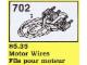 Set No: 702  Name: Motor Wires