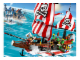 Set No: 7075  Name: Captain Redbeard's Pirate Ship - Limited Edition with Motor