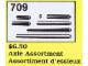 Set No: 709  Name: Axle Assortment