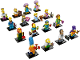 Set No: 71009  Name: Minifigure, The Simpsons, Series 2 (Complete Series of 16 Complete Minifigure Sets)