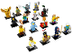 Set No: 71011  Name: Minifigure, Series 15 (Complete Series of 16 Complete Minifigure Sets)