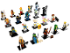 Set No: 71019  Name: Minifigure, The LEGO Ninjago Movie (Complete Series of 20 Complete Minifigure Sets)