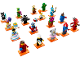 Set No: 71021  Name: Minifigure, Series 18 (Complete Series of 17 Complete Minifigure Sets)