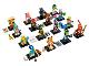 Set No: 71025  Name: Minifigure, Series 19 (Complete Series of 16 Complete Minifigure Sets)