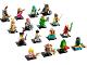 Set No: 71027  Name: Minifigure, Series 20 (Complete Series of 16 Complete Minifigure Sets)