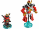 Set No: 71216  Name: Fun Pack - Ninjago (Nya and Samurai Mech)
