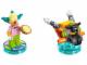 Set No: 71227  Name: Fun Pack - The Simpsons (Krusty and Clown Bike)