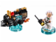 Set No: 71230  Name: Fun Pack - Back to the Future (Doc Brown and Traveling Time Train)