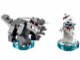Set No: 71233  Name: Fun Pack - Ghostbusters (Stay Puft Bibendum Chamallow and Terror Dog)