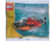 Set No: 7218  Name: Orange Speedboat polybag