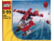 Set No: 7222  Name: Small Red Helicopter polybag
