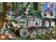 Set No: 7261  Name: Clone Turbo Tank (with Light-Up Mace Windu, Trans-Light Purple Lightsaber Blade)
