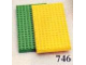 Set No: 746  Name: Baseplates, Green and Yellow