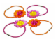 Set No: 7505  Name: Flowered Hair Bands