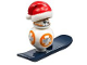 Set No: 75184  Name: Advent Calendar 2017, Star Wars (Day 24) - BB-8 with Santa Hat