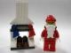 Set No: 7687  Name: Advent Calendar 2009, City (Day 24) - Santa and Fireplace