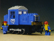 Set No: 7760  Name: Electric Diesel Locomotive (Diesel Shunter Locomotive)