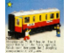 Set No: 7815  Name: Passenger Carriage / Sleeper