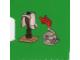 Set No: 7952  Name: Advent Calendar 2010, Kingdoms (Day  6) - Armor Rack with Plate Armor and Helmet