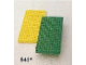 Set No: 841  Name: Baseplates, Green and Yellow