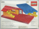 Set No: 842  Name: Baseplates, Red and Blue
