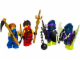 Set No: 851342  Name: Ninja Army Building Set blister pack
