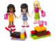 Set No: 853556  Name: Friends Mini-doll Campsite Set blister pack