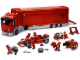Set No: 8654  Name: Scuderia Ferrari Truck