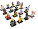 Set No: 8803  Name: Minifigure, Series 3 (Complete Series of 16 Complete Minifigure Sets)