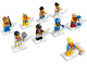 Set No: 8909  Name: Minifigure, Team GB (Complete Series of 9 Complete Minifigure Sets)
