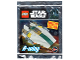Set No: 911724  Name: A-wing foil pack