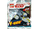 Set No: 911730  Name: Y-wing foil pack