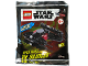 Set No: 911954  Name: Kylo Ren's TIE Silencer foil pack