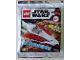 Set No: 912172  Name: Jedi Starfighter foil pack