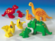 Set No: 9196  Name: Duplo Dinosaur Families