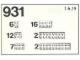 Set No: 931  Name: White Bricks