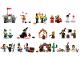 Set No: 9349  Name: Fairytale & Historic Minifigure Set