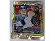 Set No: 952103  Name: Policeman and Motorcycle foil pack #3