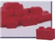Set No: 970008  Name: 1 x 2 Red Bricks (Pack of 50)
