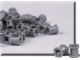Set No: 970016  Name: Gray Bushing (Pack of 100)