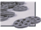 Set No: 970018  Name: Gray Pulley Wheel (Pack of 50)