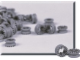 Set No: 970020  Name: Small Gray Pulley (Pack of 100)