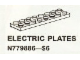 Set No: 9886  Name: Electric Plates