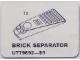 Set No: 9892  Name: Brick Separator