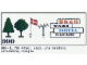 Set No: 990  Name: Trees and Signs (1971 version with granulated trees)