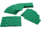Set No: 991223  Name: Small Green Plates Pack (Pack of 25)