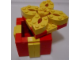 Set No: LLCA07  Name: Holiday Gift Box (Red Box, Yellow Trim with Removable Top) (Legoland California)